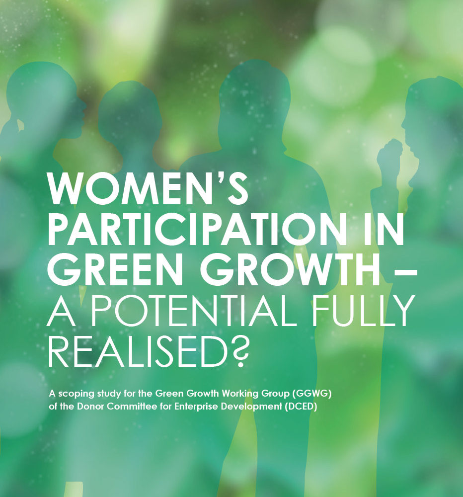 Women´s participation in green growth
